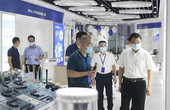 武进区领导莅临公司调研企业科技创新情况